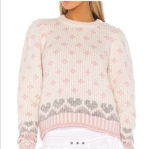 Loveshackfancy Rosie pullover NWT